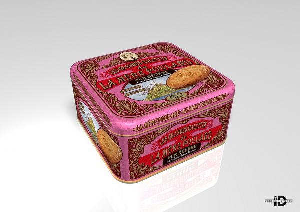 Coffret Pure butter large biscuits