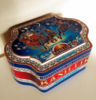 Tin Caddy Enchanting Snow 100 g.