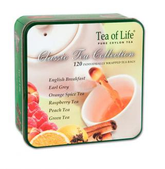 Classic tea collection plech 120 ks.