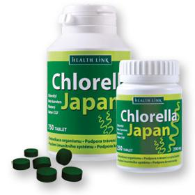 Chlorella Japan 200 mg. 750 tbl.