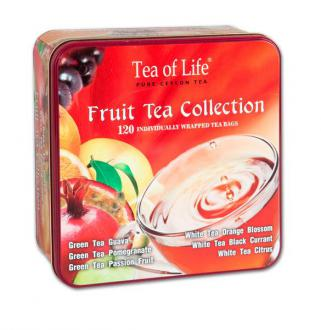 Fruit tea collection plech 120 ks.